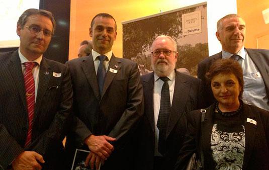 Precval y ValenciaCaballo con el Ministro de Agricultura