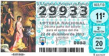 29933 nuestro número en la loteria navidad.