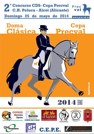 Cartel Copa Precval 2CDS