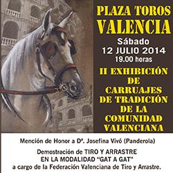 2ª exhibición de carruajes de tradición de la Comunidad Valenciana